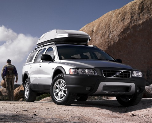 Volvo tetőbox bérbeadás